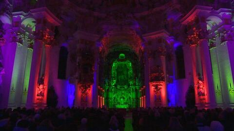 Illumination in der Wieskirche (Donnerstag, 03. November 2016 11:36:00)